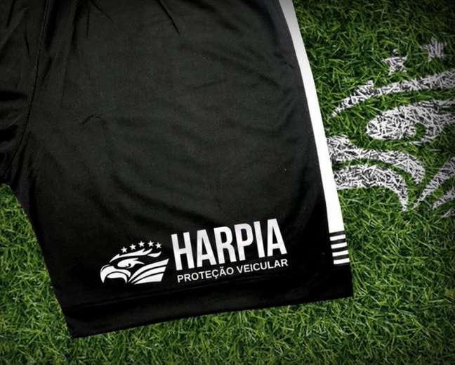 Harpia é a nova patrocinadora do Botafogo (Foto: Divulgação/Botafogo)