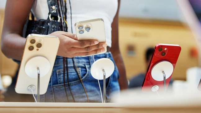 Modelos da linha iPhone 13