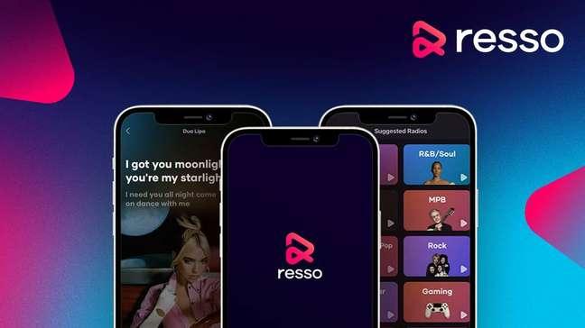 O Resso aposta em recomendação de músicas e playlists personalizadas em modelo similar ao TikTok, ambos controlados pela chinesa ByteDance