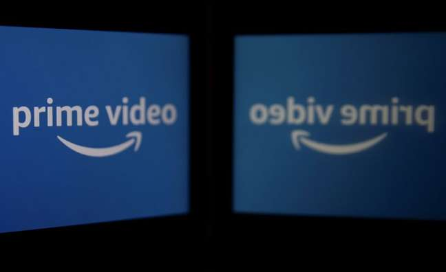 Logotipo do serviço de streaming de vídeo Amazon Prime. 5/3/2021. REUTERS/Danish Siddiqui