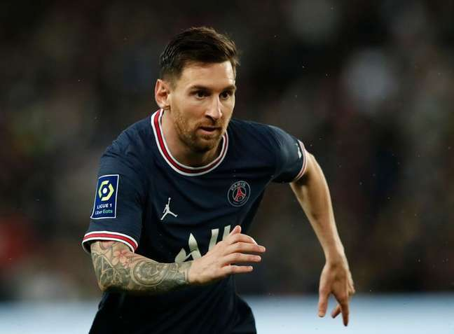 Atacante argentino Lionel Messi, do PSG  19/09/2021 REUTERS/Benoit Tessier