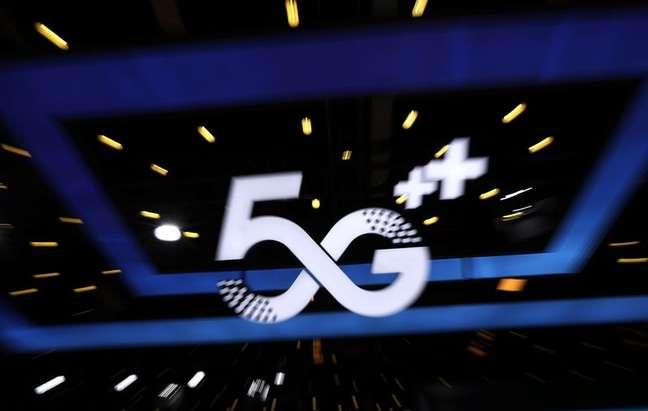 Anúncio de tecnologia 5G durante evento de internet na China. 13/7/2021. REUTERS/Tingshu Wang