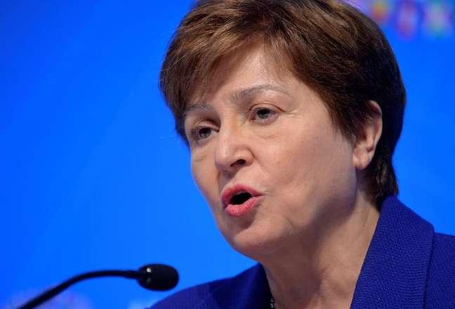A diretora-gerente do Fundo Monetário Internacional (FMI), Kristalina Georgieva, em Washington, EUA, 19 de outubro de 2019. REUTERS/Mike Theiler