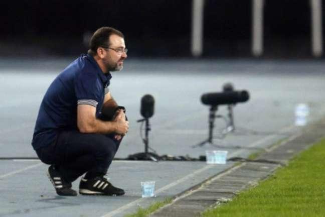 Enderson diz que goleiro tem créditos (Foto: Vítor Silva/Botafogo)