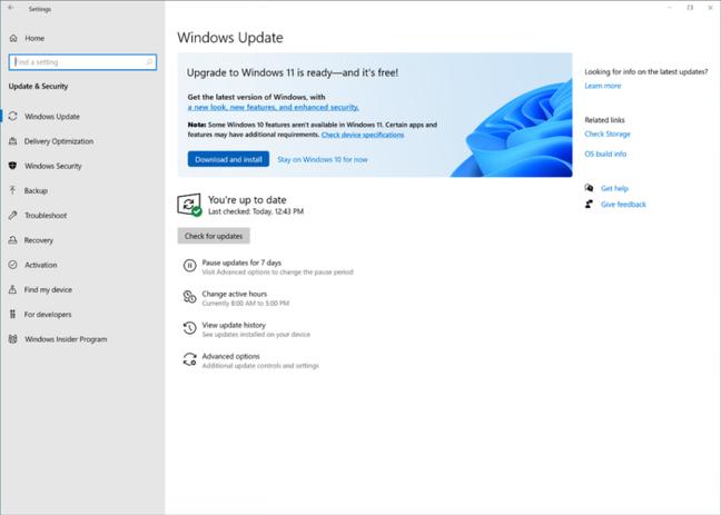 Atualização para o Windows 11