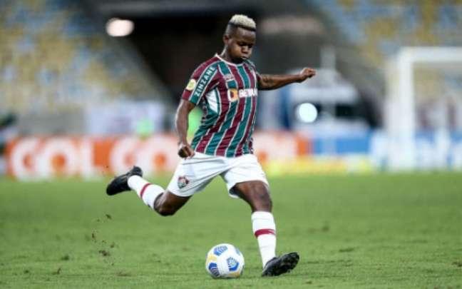 Cazares foi um dos reforços do Flu (Foto: Lucas Merçon/Fluminense FC)
