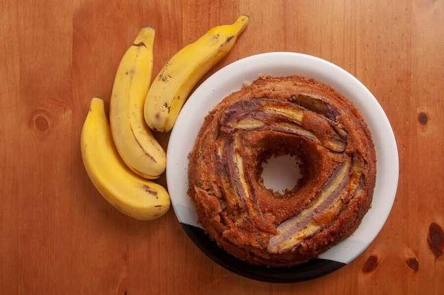 2. Como fazer bolo de banana fofinho e fácil – Foto: iStock