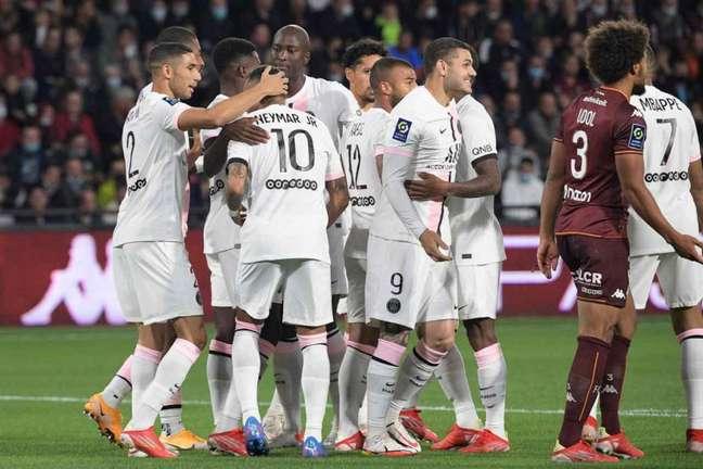 PSG quer manter sequência invicta no Francês (Foto: SEBASTIEN BOZON / AFP)