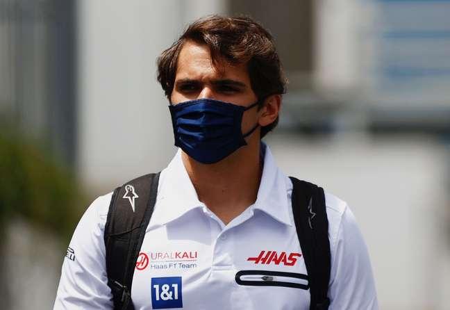 Pietro Fittipaldi é o piloto reserva da Haas.