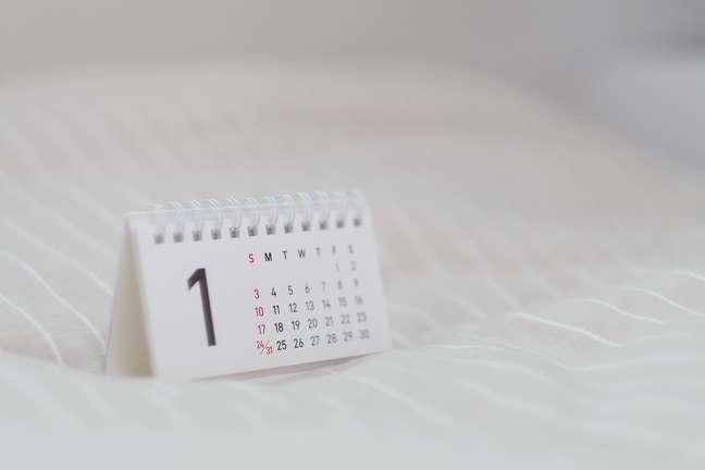 calendário data dia mês ano