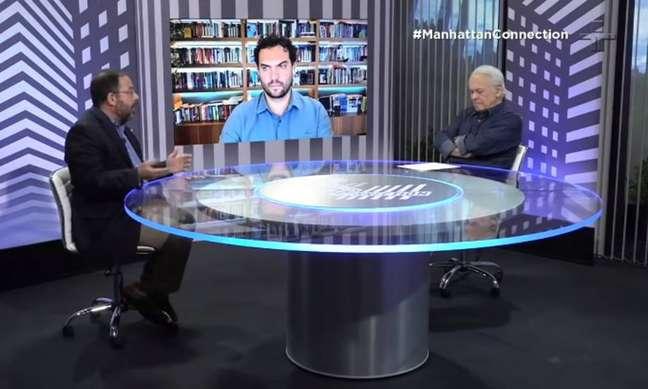 Cena do último 'Manhattan Connection' exibido pela TV Cultura