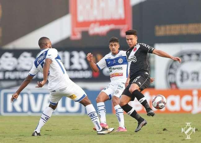 Na ida, o Vasco venceu o Confiança por 1 a 0, em São Januário, pela 9ªrodada (Foto: Rafael Ribeiro / Vasco)