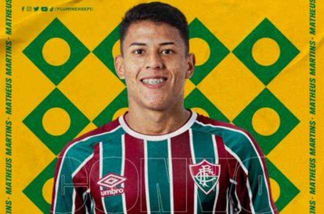 Matheus Martins foi convocado para treinos com a Seleção Brasileira Sub-18 (Foto: Reprodução)