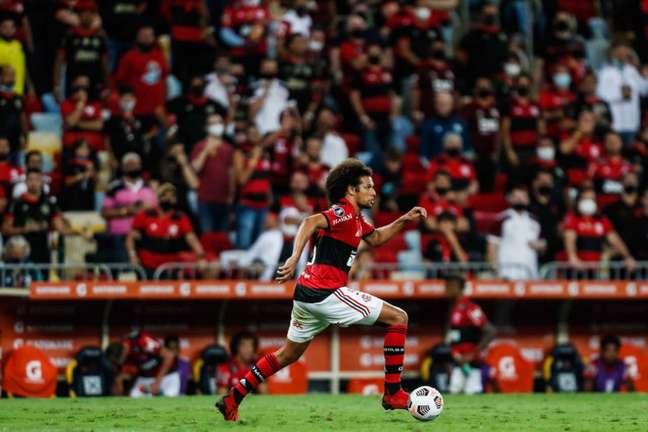 Willian Arão está no Flamengo desde 2016 (Foto: Gilvan de Souza/Flamengo)
