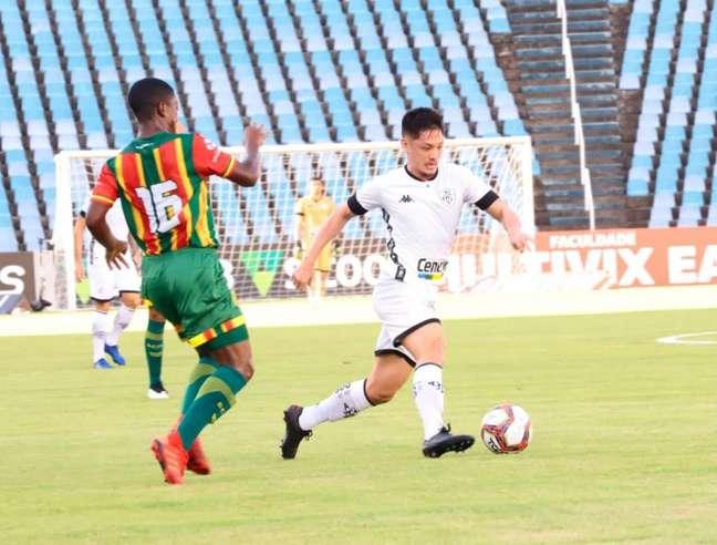 No primeiro turno, Sampaio venceu o Botafogo (Foto: John Tavares)