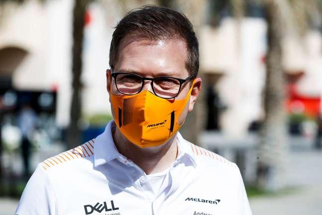 Andreas Seidl, chefe da McLaren