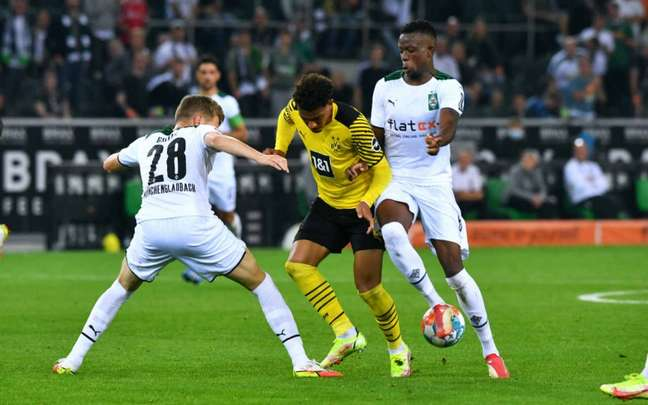 Borussia Mönchengladbach conquistou sua segunda vitória no Campeonato Alemão (Foto: UWE KRAFT / AFP)