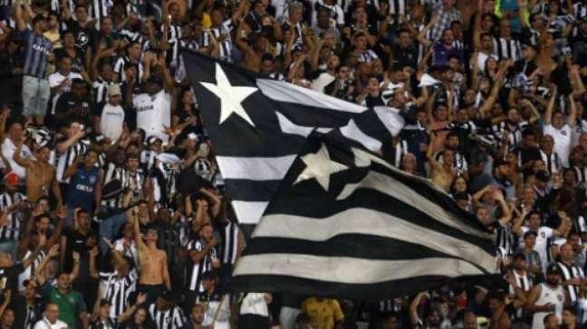 Torcida do Botafogo no Nilton Santos (Foto: Vítor Silva/Botafogo)