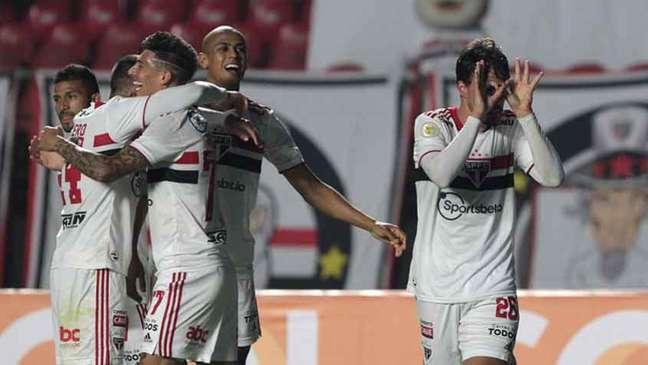 São Paulo não perde do Atlético-MG no Morumbi desde 2017 (Foto: Rubens Chiri / saopaulofc.net)
