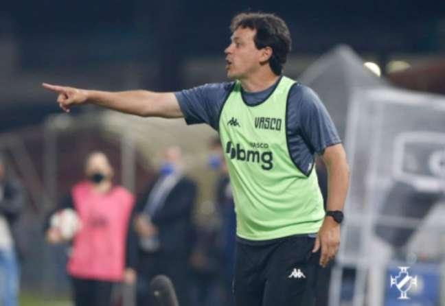 Diniz valorizou resultado do Cruz-Maltino (Foto: Rafael Ribeiro/Vasco)