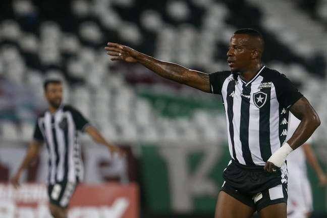 Guilherme Santos em ação pelo Botafogo (Foto: Vítor Silva/Botafogo)