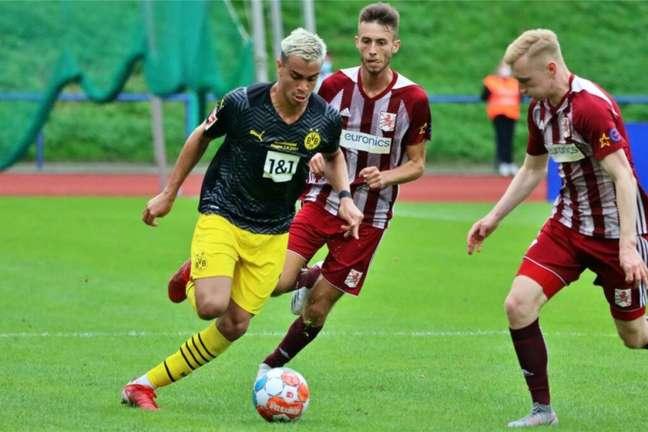 Reinier não vem sendo bem aproveitado no Borussia Dortmund (Foto: Florian Groeger / Borussia Dortmund)