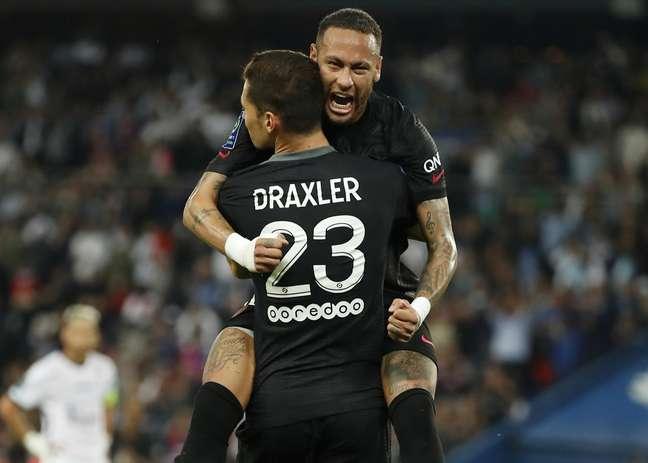 PSG vence Montpellier por 2 a 0 e segue com 100% no Francês