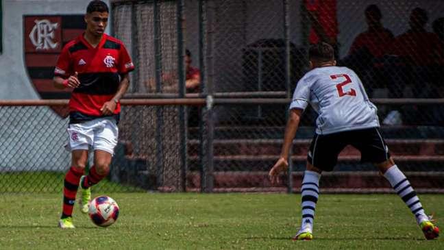 Partida foi bastante acirrada na Gávea (Paula Reis / Flamengo)