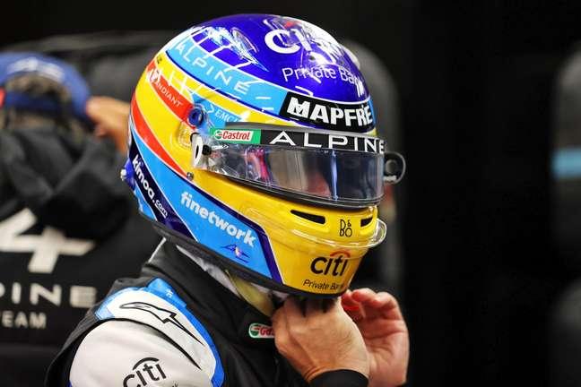 Alonso ficou satisfeito com a classificação em Sóchi