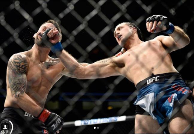 Ortega é destaque no UFC neste sábado -(FOTO: Divulgação/UFC)