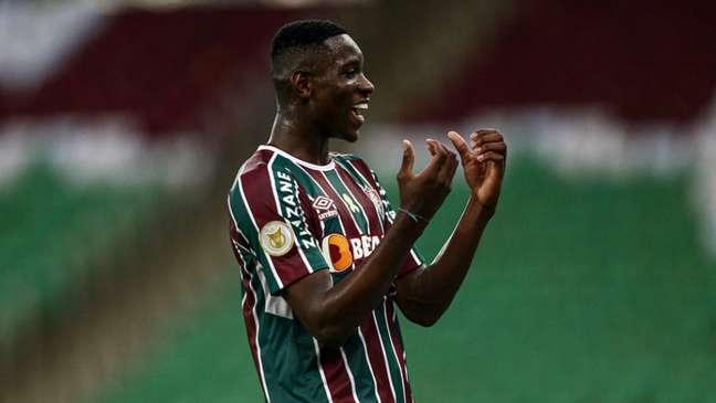 Luiz Henrique vem sendo importante nos últimos jogos do Fluminense (Foto: Lucas Merçon/Fluminense FC)