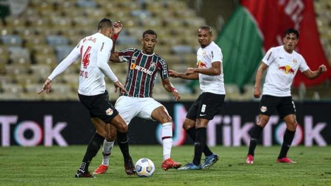 Fluminense e Red Bull Bragantino vão para o quarto confronto na temporada (Foto: Lucas Merçon/Fluminense FC)