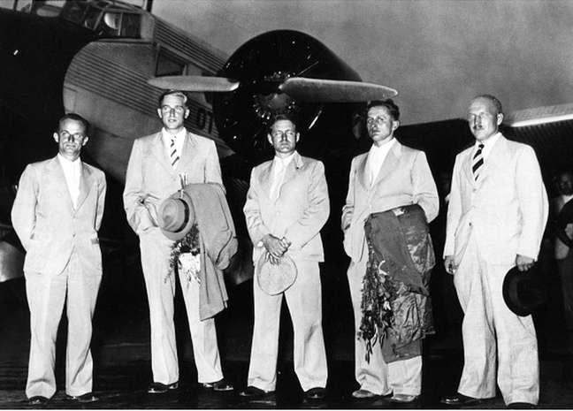 Navio que transportava os cinco alemães atracou em Colombo no início de maio de 1938