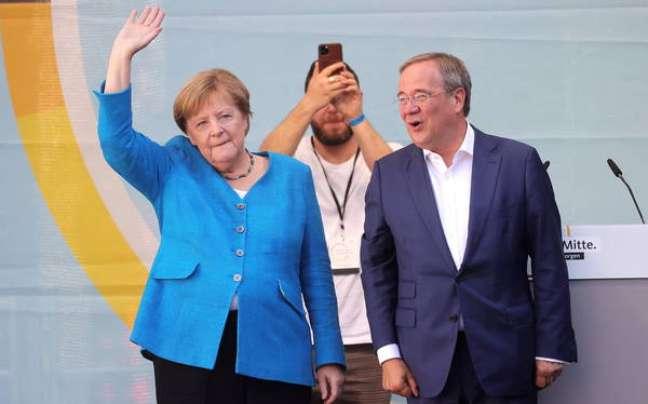 Merkel participou de último comício da CDU