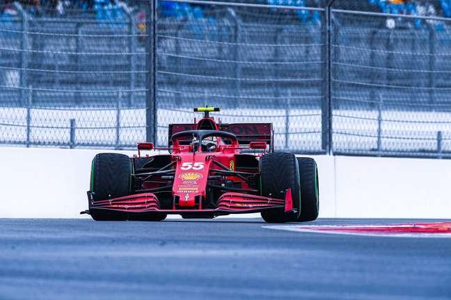 Carlos Sainz, da Ferrari