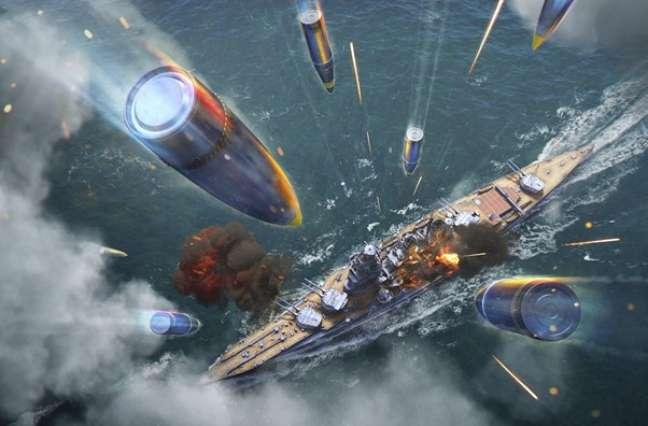 Como funciona a dispersão em World of Warships