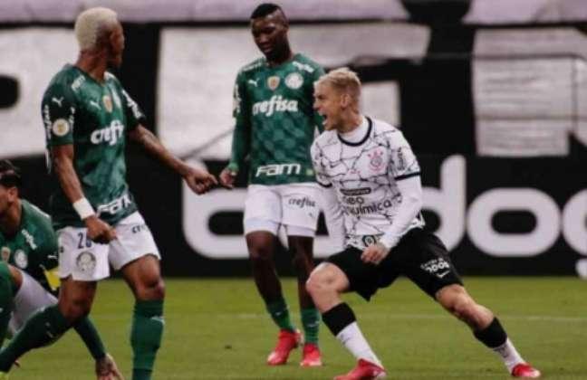 Róger Guedes brilhou contra ex-clube (Foto: Foto: Rodrigo Coca / Ag. Corinthians)