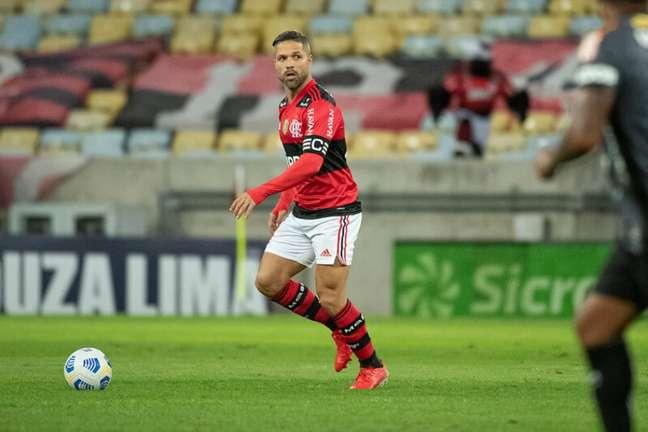 Diego será a referência do time, que contará com Vitinho e Pedro (Foto: Alexandre Vidal/Flamengo)
