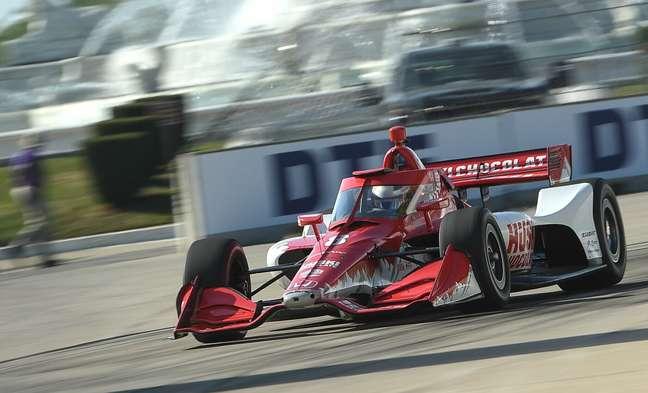 Marcus Ericsson bateu também em Long Beach