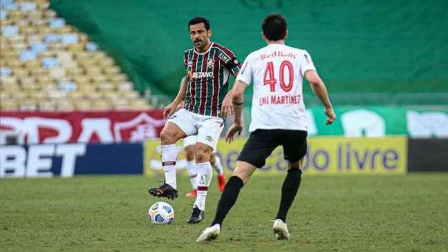 Fred também comemorou a vice-artilharia do Brasileiro, conquistada com o gol (Foto: Lucas Merçon / Fluminense)