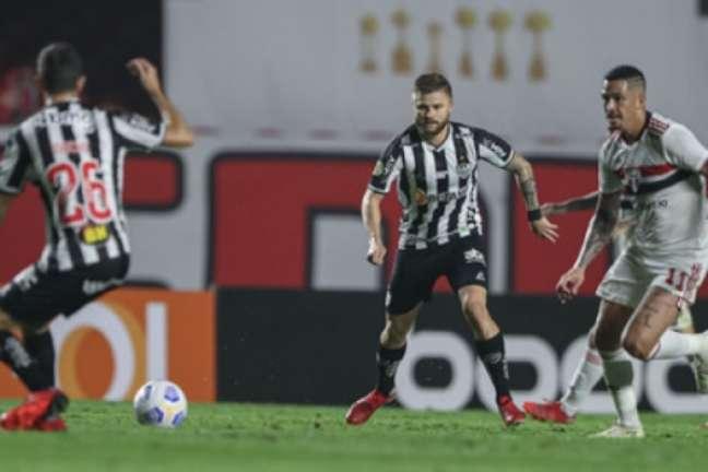 O alvinegro de Minas segue na liderança do campeonato com 46 pontos-(Pedro Souza/Atlético-MG)