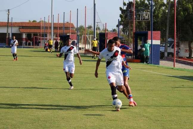 Vasco derrotou o Fortaleza por 2 a 0 pelo Campeonato Brasileiro Sub-20 (Foto: Karim Georges / Fortaleza EC)