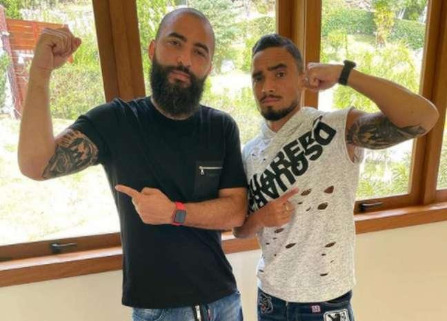 Luiz Henrique e Rafael (Foto: Arquivo Pessoal)