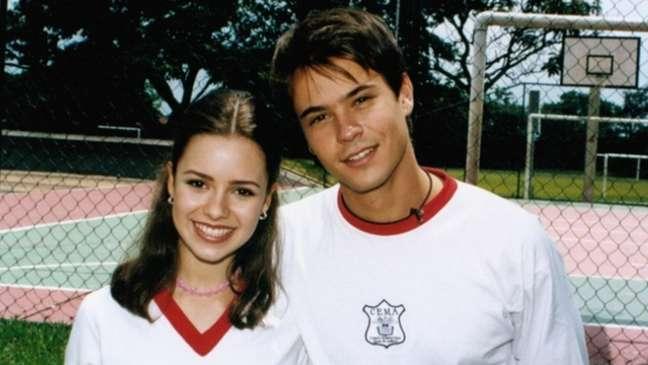 O romance da cantora com o ator durou oito meses, entre 1999 e 2000.