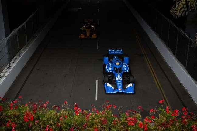 Álex Palou se sagrou campeão da Indy em Long Beach