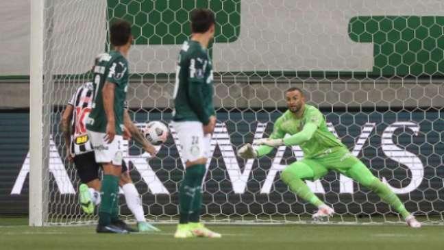 O Galo quer evitar excesso de pressão na equipe antes do duelo diante do Palmeiras-(Foto: Cesar Greco)