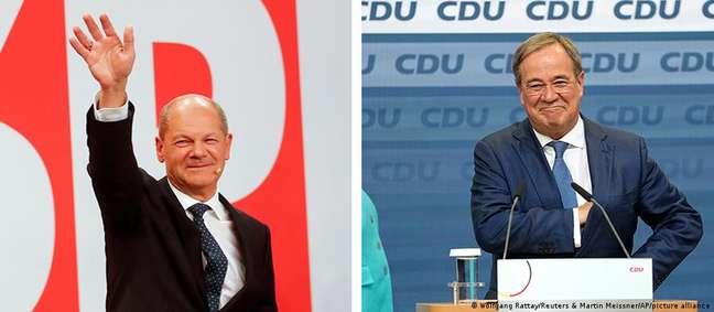 Scholz, social-democrata, e Laschet, conservador, têm chances de governar a Alemanha