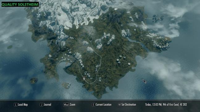Quality World Map mod