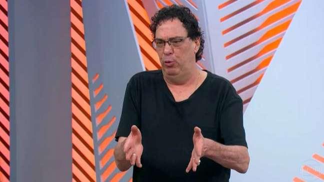Casagrande é comentarista da Globo (Reprodução/Globoplay)