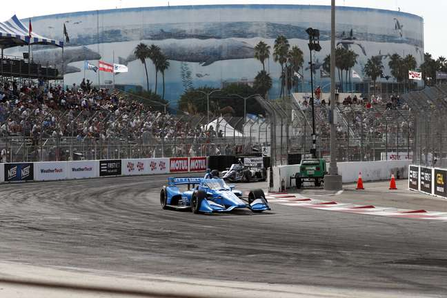 Álex Palou sagrou-se campeão da Indy em Long Beach